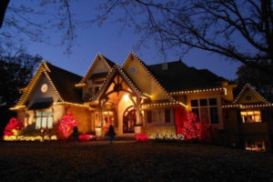 Professionally Installed Residential Christmas Lights